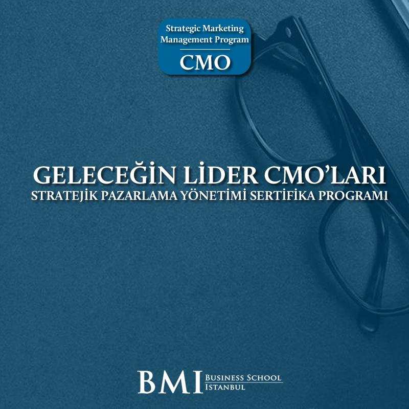 Pazarlama Yöneticilerine Özel (CMO) Sertifika Programı Başlıyor!